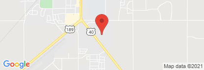 Map to Heber Valley Dialysis Center