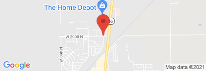 Map to Intermountain Tooele Valley Dialysis