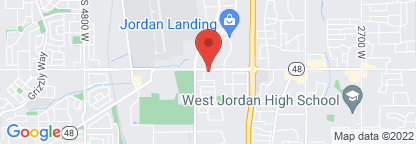 Map to Jordan Landing Clinic Lab