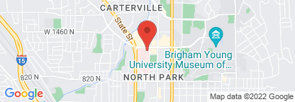 Map to Utah Valley Outpatient Center