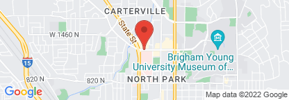 Map to Intermountain Homecare Equipment - Provo