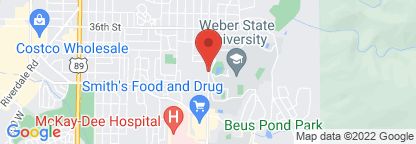 Map to Intermountain Orthopedics and Sports Medicine - McKay-Dee North Campus