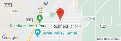 Map to Intermountain Homecare Equipment - Richfield