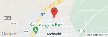Map to Intermountain Homecare & Hospice - Richfield