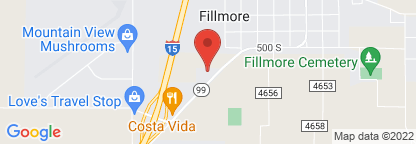 Map to Fillmore Community Hospital Lab