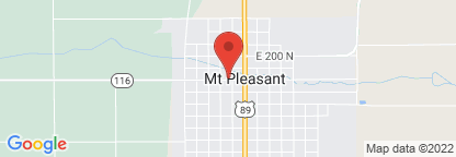 Map to Intermountain Homecare Equipment - Mt. Pleasant