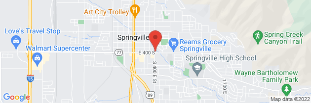Map to Springville WorkMed