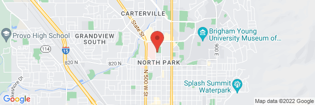 Map to Utah Valley Surgical Weight Loss