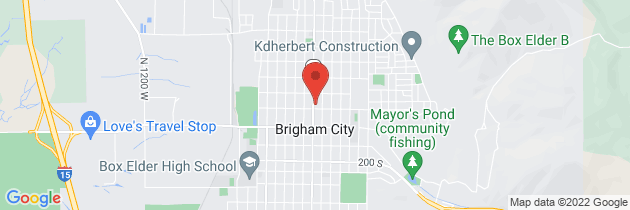 Map to Employee Assistance Program - Brigham City