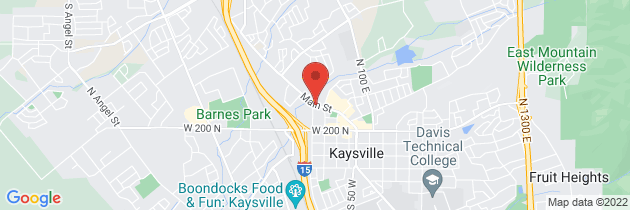 Map to Kaysville Creekside Clinic