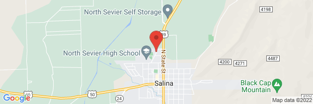 Map to North Sevier Medical Clinic Pharmacy