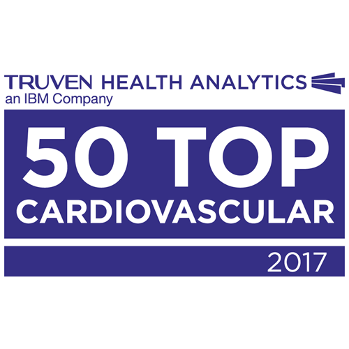 Utah Valley Hospital is one of the 50 Top Cardiovascular Hospitals in the country as named by Truven Health Analytics™ an IBM company