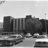 The seven-floor East Tower at Utah Valley Hospital was completed in 1978.