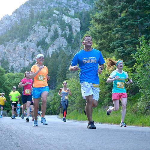 AF Canyon Run Against Cancer
