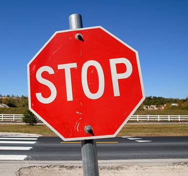 Stop sign 700