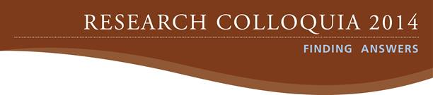 2014 Research Colloquia