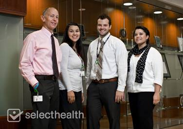 SelectHealth team