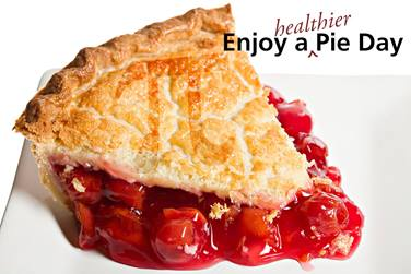 Enjoy a Healthier Pie Day
