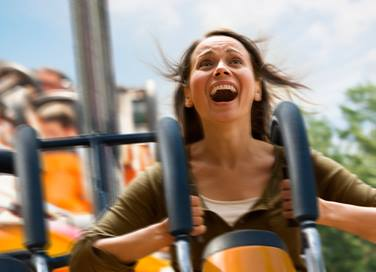 Roller coasters are fun, but come with potential health risks for some riders