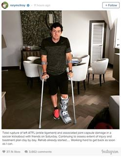McIlroy Ankle